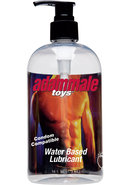 Adammale Toys Water Based Lubricant 16 Ounces
