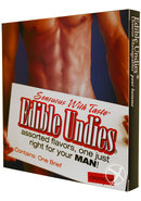Sensuous With Taste Edible Undies Male Chocolate
