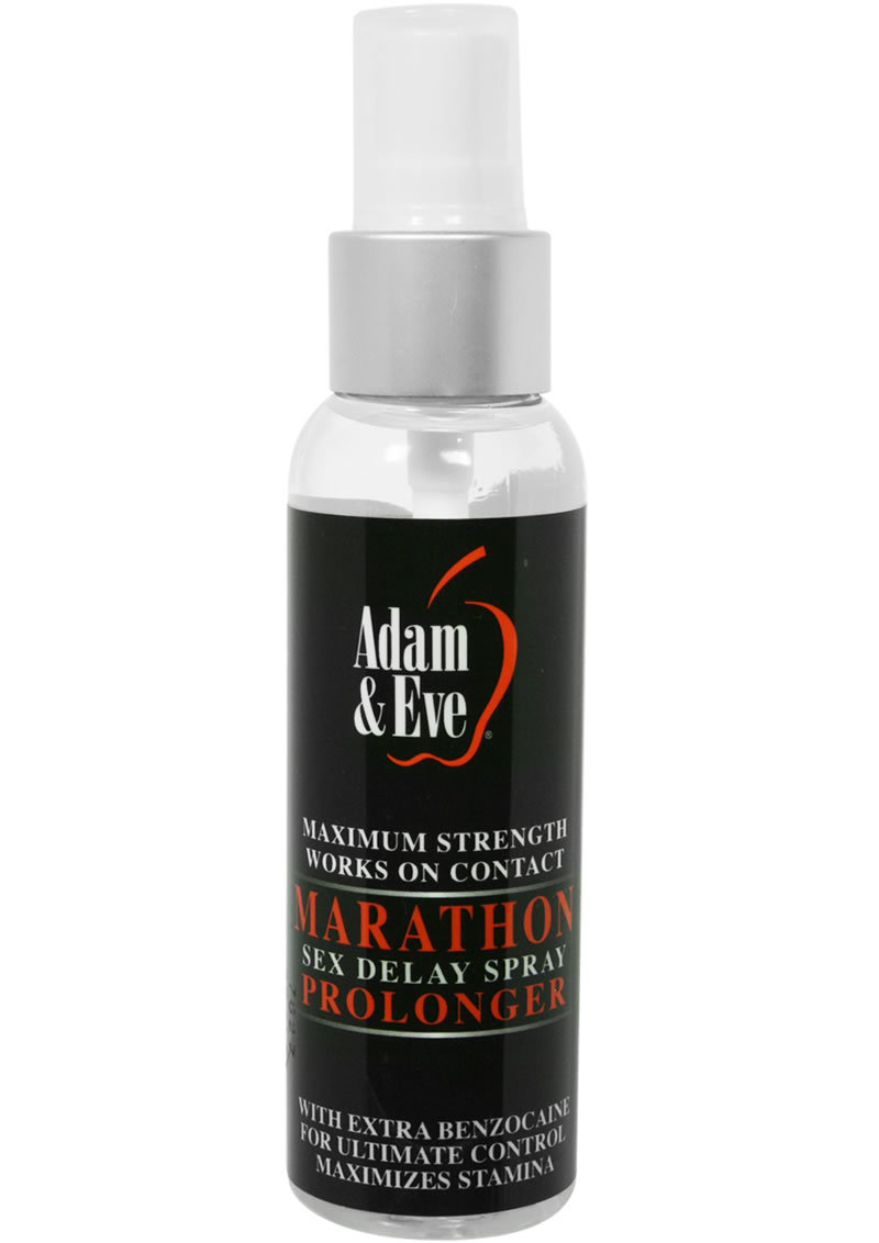 Adam And Eve Marathon Sex Delay Spray Prolonger Maximum Strength 2oz