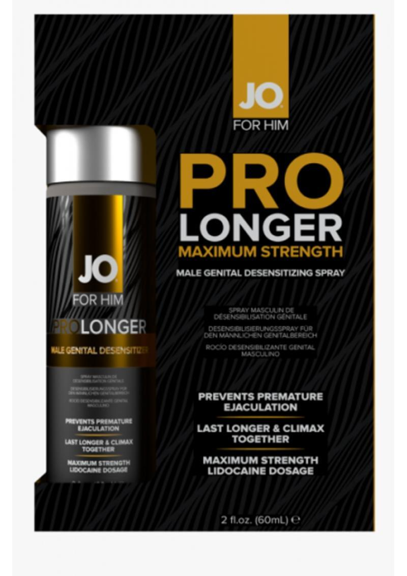 Jo For Him Pro Longer Maximum Strength Desensitizing Spray 2 Ounce